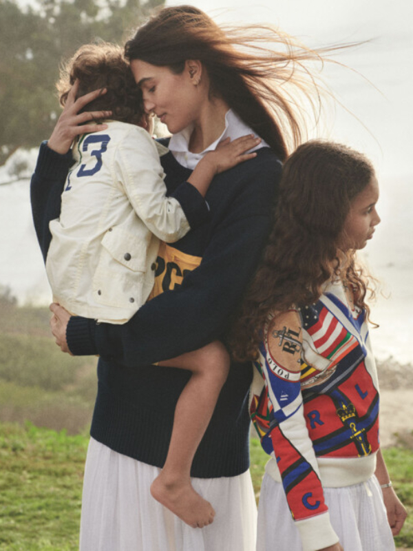 Porodične vrednosti: reklamna kampanja Polo Ralph Lauren