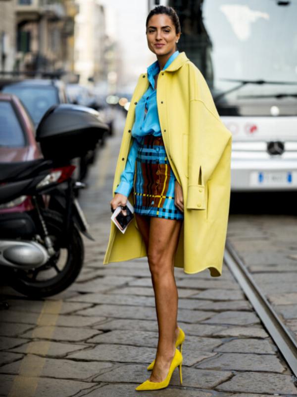 Street style: 30 razloga da se zaljubite u žutu