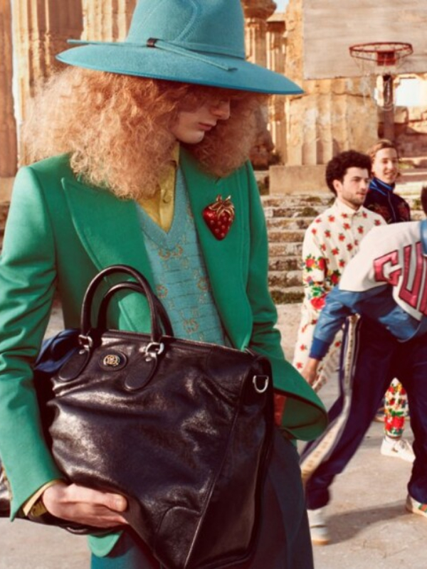 Turisti: Gucci pre-fall 2019 reklamna kampanja