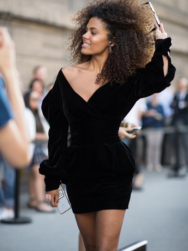 Kako tokom leta nositi crnu odeću: 16 najboljih primera heroina uličnog stila