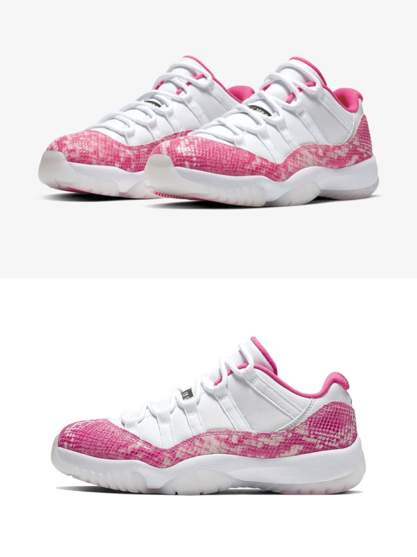 Zmijska kože pronašla je mesto na Air Jordan 11 Low patikama