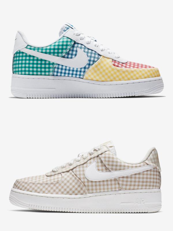 Uskoro ćete moći da kupite novi Nike Air Force 1 Gingham Pack!