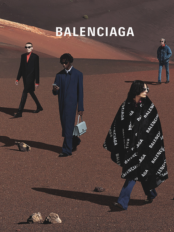 Balenciaga u pustinji - nova reklamna kampanja