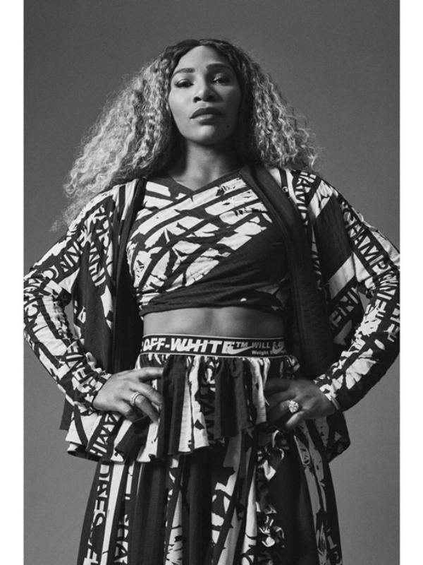 """Serena Vilijams postala je junakinja lookbook-a """"Off-White"""" i """"Nike"""""""