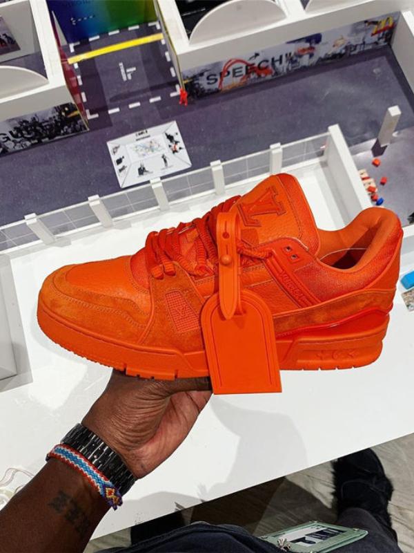 Narandžasta kolekcija Virdžila Abloa za Louis Vuitton