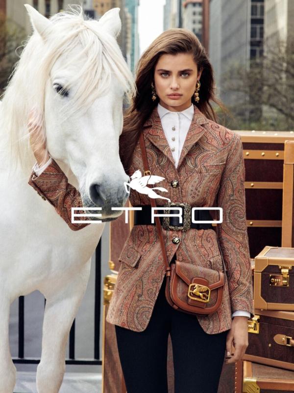 Najbolji top modeli u reklamnoj kampanji Etro jesen-zima 2019/2020
