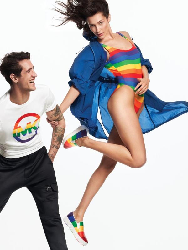 Bela Hadid podržava LGBT zajednicu u kolekciji Michael Cors Pride