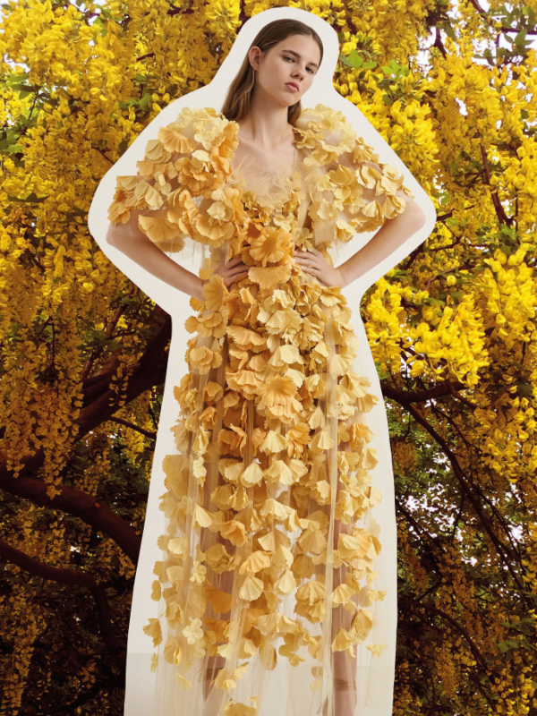 Leopard print i cvetni vez u Stella McCartney kolekciji Resort 2020