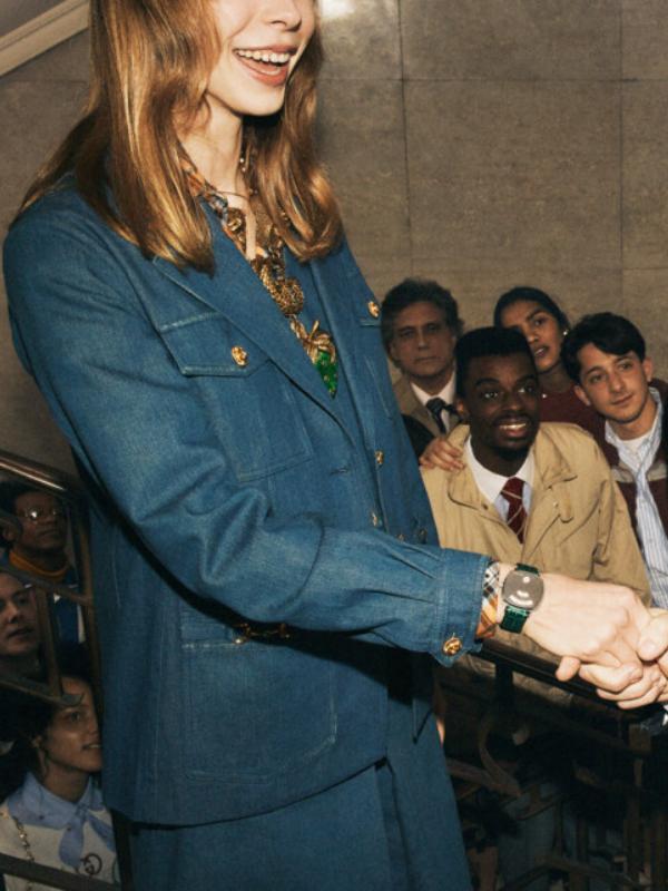 Zglob u fokusu: nova reklamna kampanja za Gucci satove