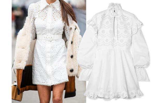 11 savršenih belih haljina za proleće