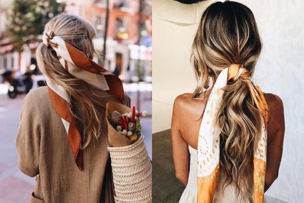 10 ideja kako ukrasiti kosu maramom