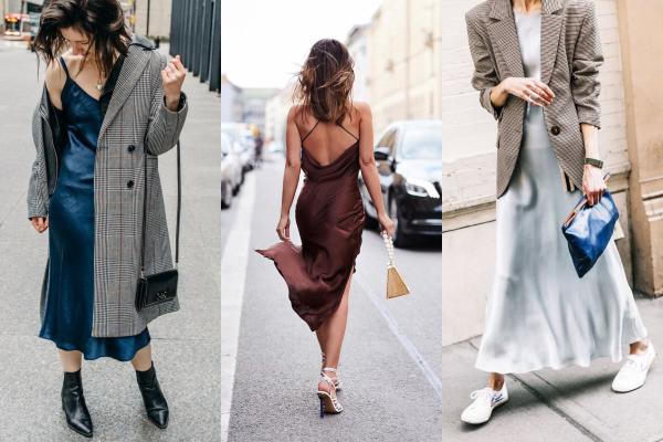 """12 delikatnih slip haljina koje treba nositi sa """"muškim"""" blejzerom"""