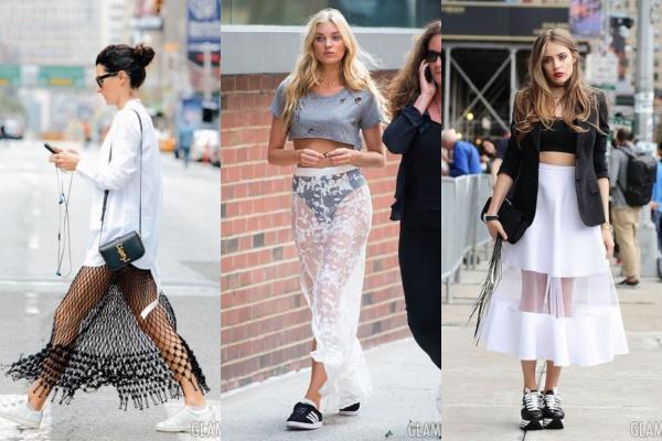 15 prozirnih suknji koje se lako kombinuju sa svakodnevnom garderobom