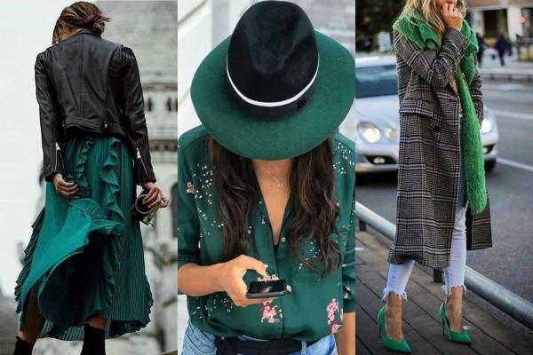 30 načina da nosite zelenu odeću ovog proleća