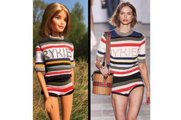Instagram nedelje: Barbie u dizajnerskim haljinama