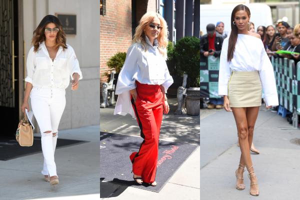 Kako nositi belu košulju: 5 primera zvezda