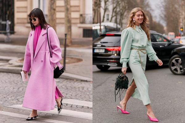 Kako nositi cipele sa otvorenom petom: 15 kul ideja zvezda uličnog stila