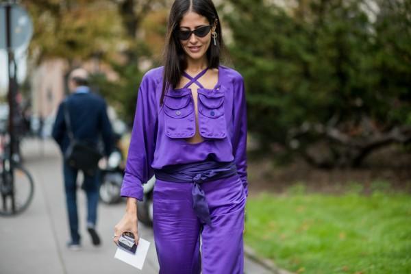 Kako nositi ultraljubičastu - glavnu boju 2018.