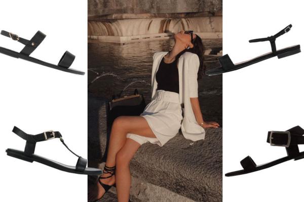 Kožne sandale sa tankim trakama - spas za letnje vrućine