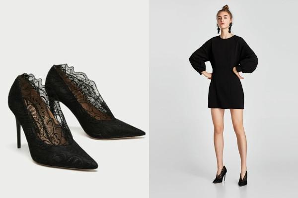 Top 5 čipkanih Zara cipela