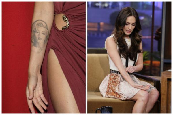 Zvezde koje su zažalile zbog svojih tetovaža